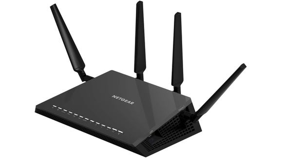 Nighthawk Netgear X4S WiFi router