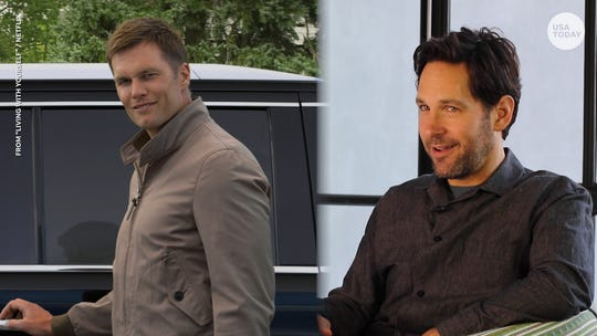 Paul Rudd on that Tom Brady 'Living With Yourself' cameo: 'He's the epitome of excellence'