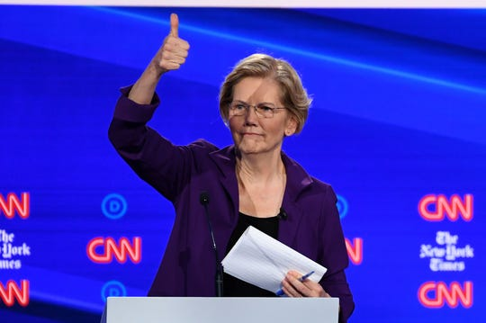 Anti-Trump businesswomen are nervous about Warren, and the Democratic debate didn't help