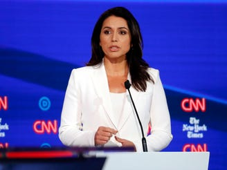 Tulsi Gabbard fires back at Hillary Clinton suggestion that she's Russia's pawn