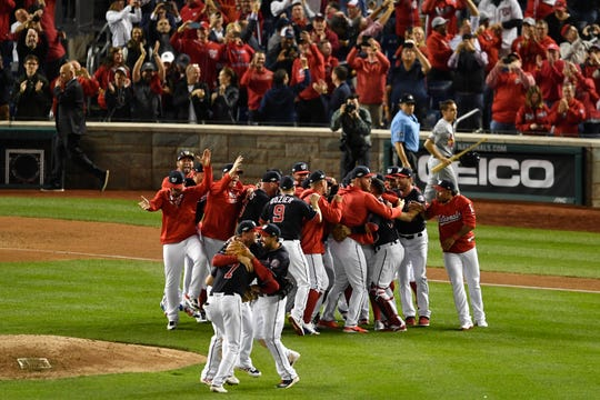 Westlake Legal Group b1e68515-bcb4-4c6b-ab15-3fc3eb6774ed-USATSI_13521453 Nationals sweep Cardinals in NLCS, reach first World Series in franchise history