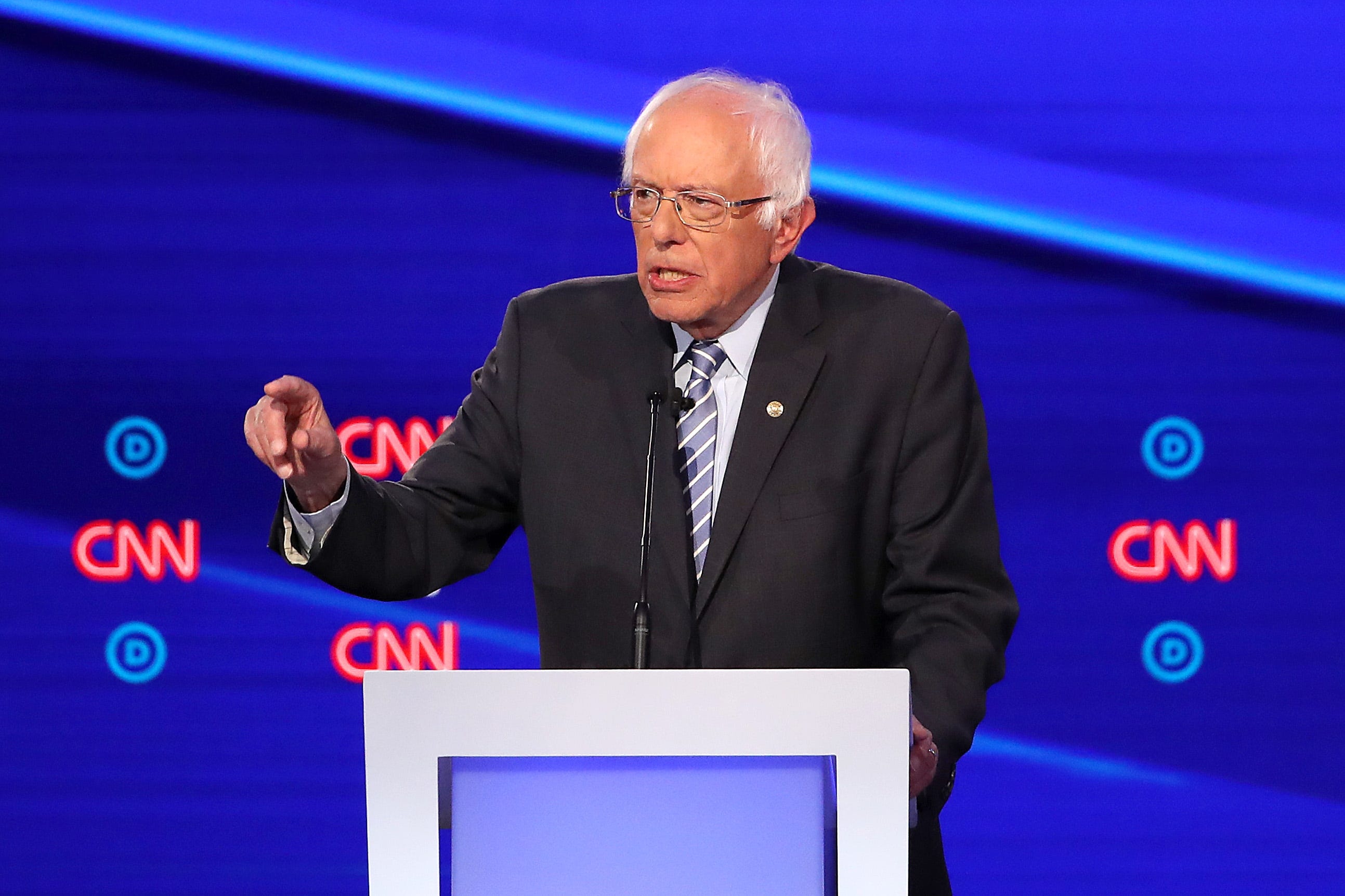 'I'm feeling great': Bernie Sanders reassured voters of his health following heart attack