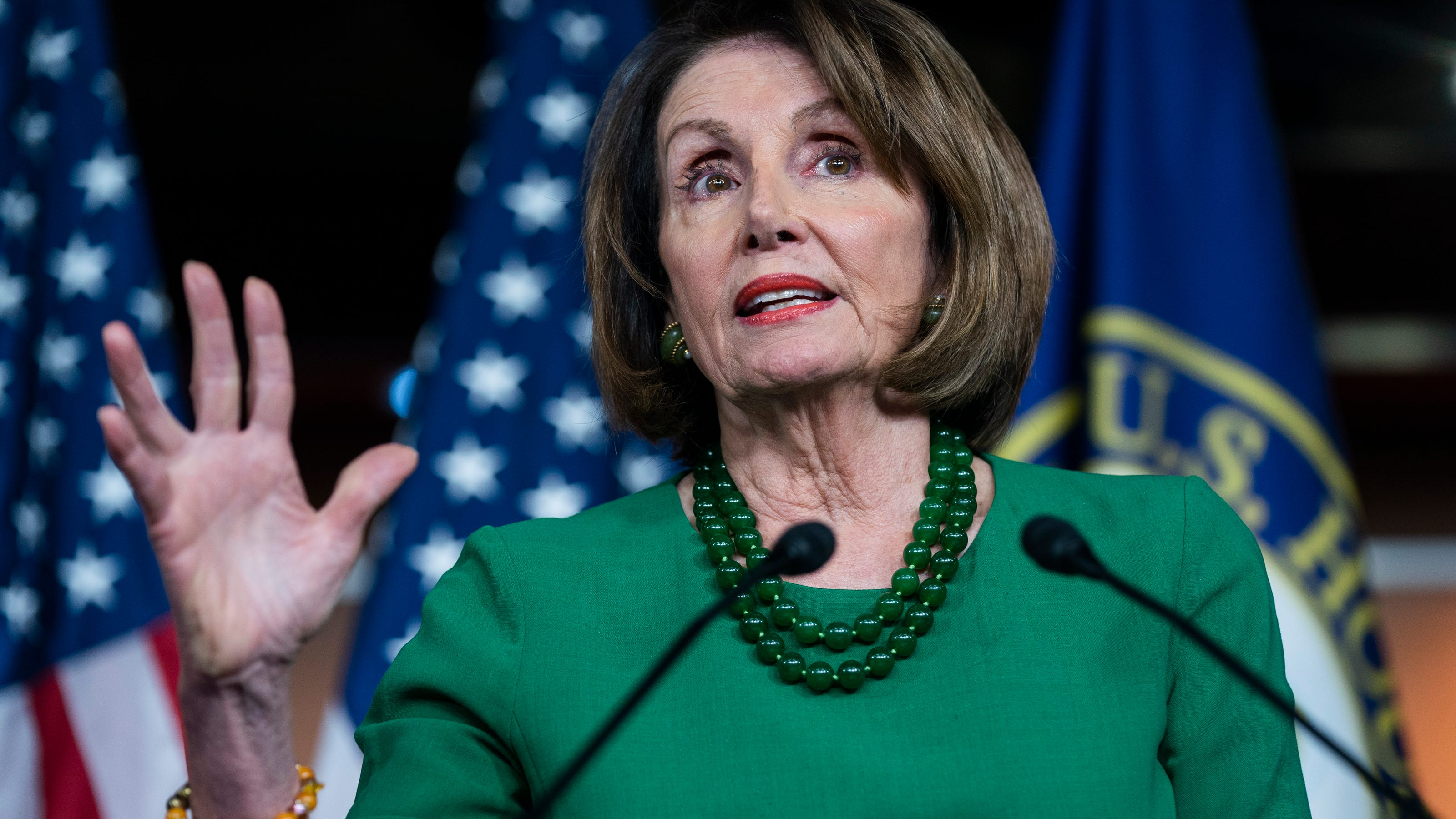 All roads lead to Putin - Pelosi on Trump as House holds