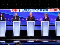 Tensions flare between Joe Biden and Elizabeth Warren at Democratic debate over big ideas vs. pragmatism