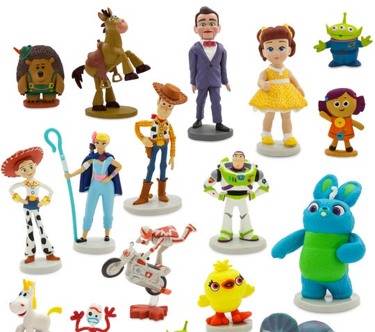 """Make your own stories with these """"Toy Story 4"""" movie characters."""