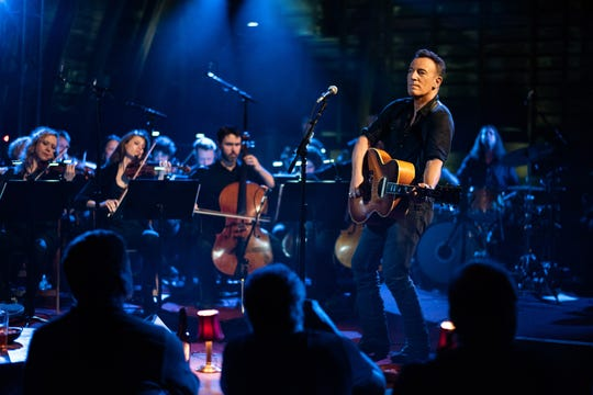BRUCE SPRINGSTEEN in WESTERN STARS, a Warner Bros. Pictures release. Photo by Rob DeMartin