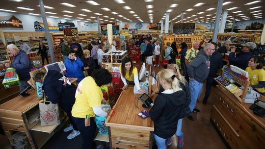 Trader Joe's opened at Brick Plaza, its first store in Ocean County, New Jersey, in October.