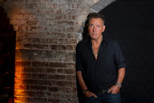Bruce Springsteen sits down for an interview to promote his new documentary, Western Stars, in New York City, NY Friday, September 27, 2019.