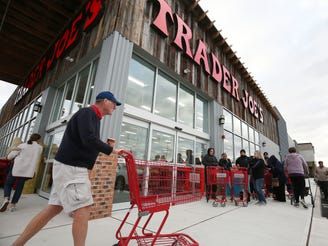 Trader Joe's packed at long-awaited Brick store opening