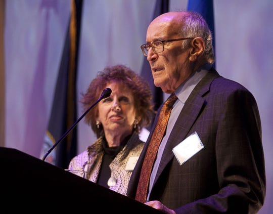 Robert and Joan Rechnitz at a Monmouth University event in 2012.