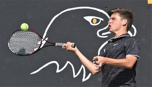 No. 13 Abilene High eases past Midland High 10-1 in second-round tennis match