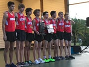 Satellite High's boys won the 2019 Cape Coast Conference cross country title