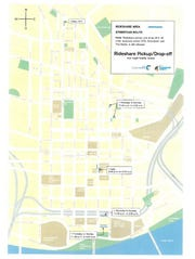 City maps show more detail on the rideshare program.