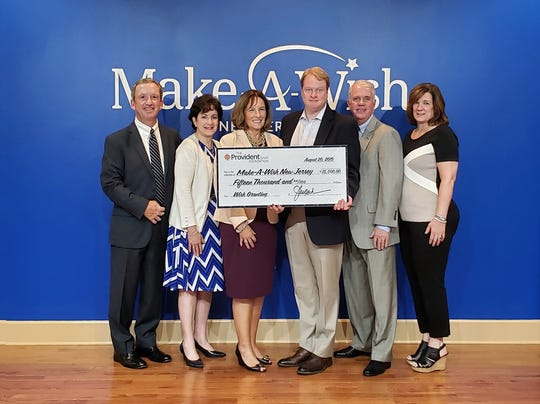 Make-A-Wish New Jersey was among the recipients of the The Provident Bank Foundation's Second Cycle 2019 Major Grants in Central Jersey.