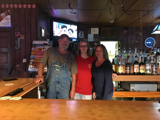John, Melissa and Barbara Yesaitis, whose family-owned Parkside Tavern, also known as Sloppy's, is closing after 86 years. It's last day of operation will be Oct. 18.