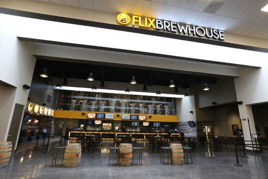 From 2015: Flix Brewhouse is shown not long after it opened at Merle Hay Mall.