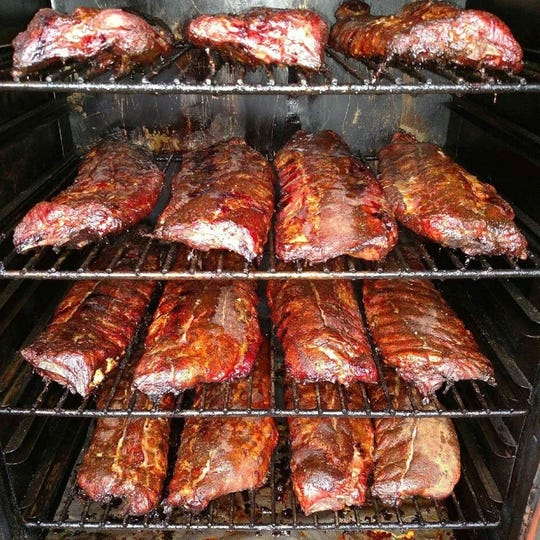 "The ribs from Moo's BBQ in Newton were named ""best ribs in the state"" by Food Network."