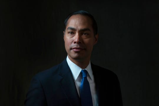 Julián Castro, Former United States Secretary of Housing and Urban Development and 2020 presidential candidate, meets with the Register's editorial board on Oct. 17, 2019.