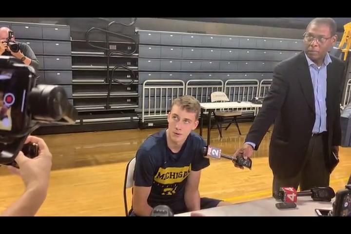 Michigan's Franz Wagner, 'a Rain Man in basketball,' isn't your typical freshman