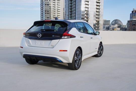 The 2019 Nissan LEAF e+.