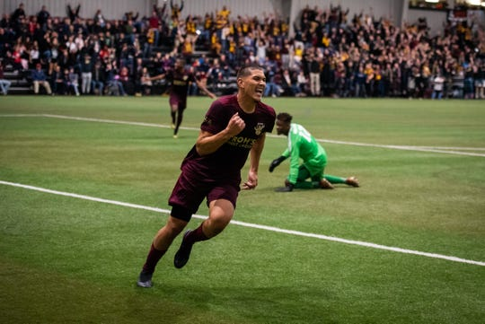 Detroit City FC forward Yazeed Matthews (is one of three players who is waiting on his P-1 visa.