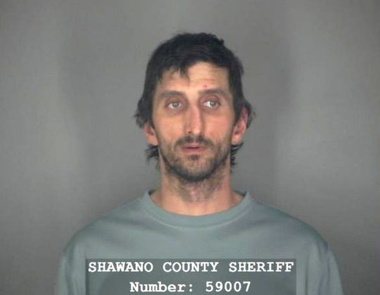This Monday, Oct. 14, 2019 booking photo from the Shawano County Sheriff's Office shows Nathan Pogrant in Shawano, Wis.