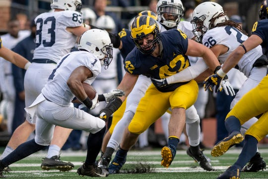 Michigan and Penn State will tangle Saturday night in Happy Valley, trading blowing victories the past two seasons.