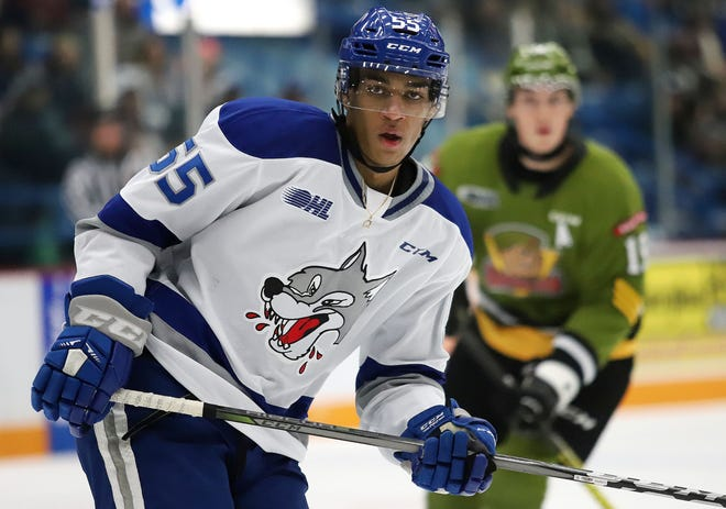 Sudbury Wolves center Quinton Byfield is a top-rated prospect for the 2020 NHL Draft in Montreal.