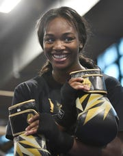 Flint boxer Claressa Shields (pictured) and soccer star Megan Rapinoe have been honored as Sportswomen of the Year at the Women's Sports Foundation.