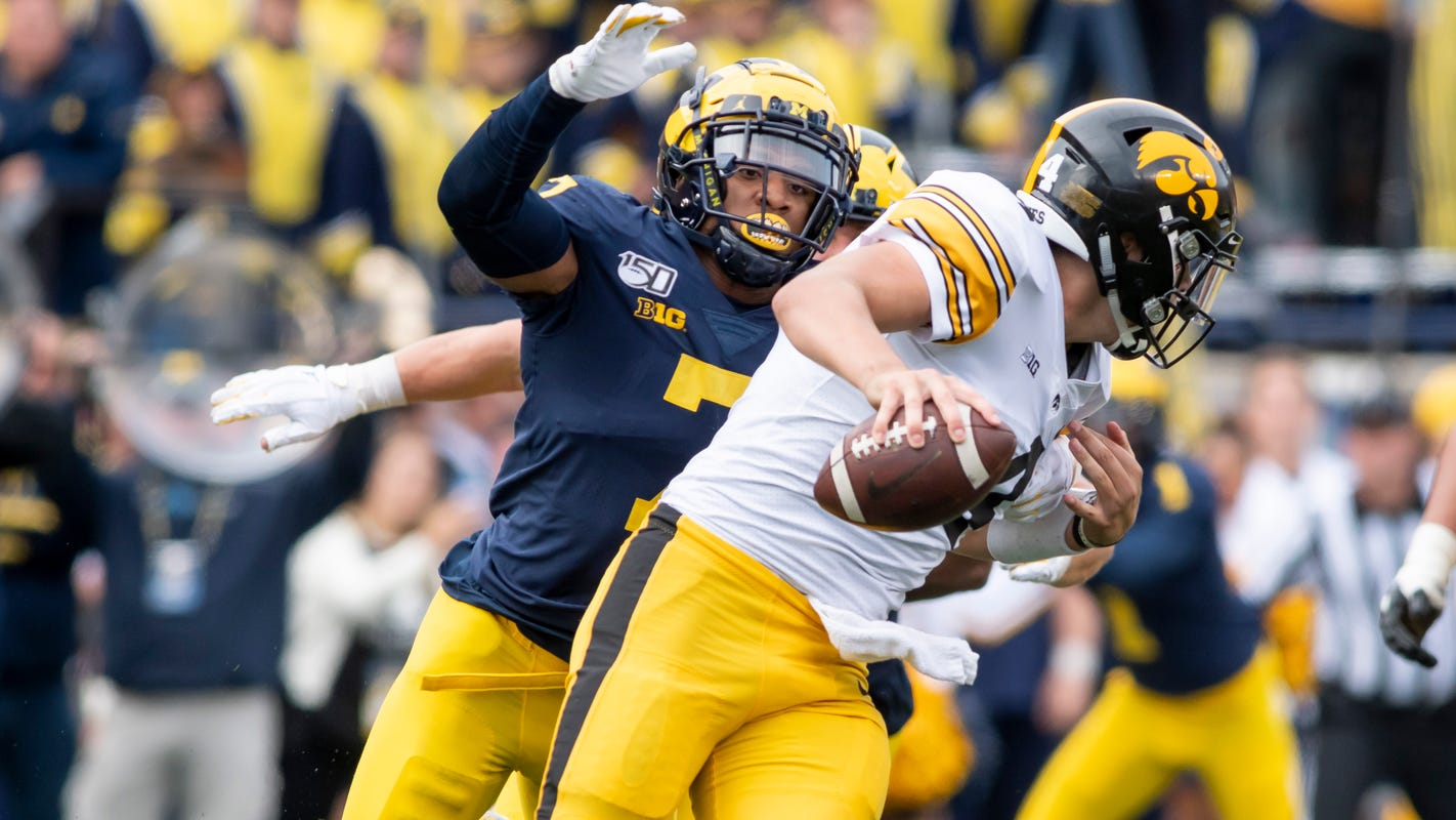 Criticism fuels Michigan defense's resurgence after Wisconsin loss: 'It gave us new flame'