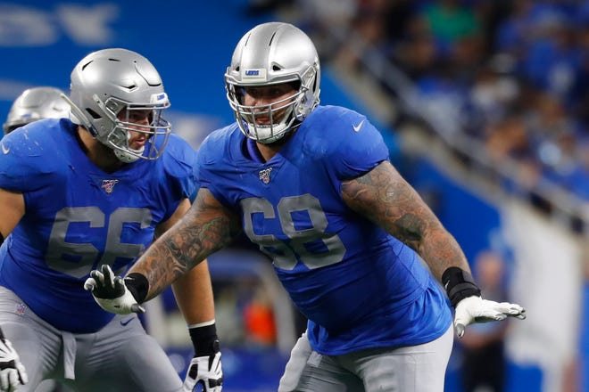In the past three games, Lions tackle Taylor Decker has allowed a combined four pressures (zero sacks).