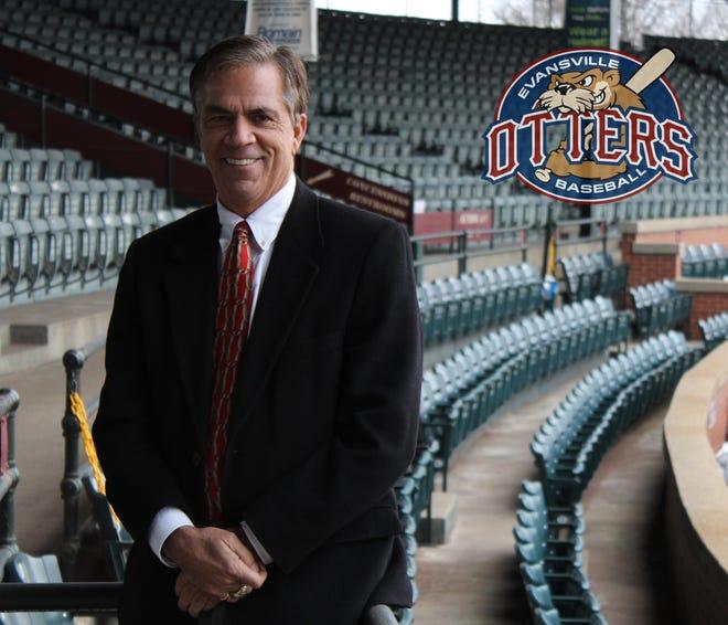 Evansville Otters president John Stanley has been named president of the Frontier League.