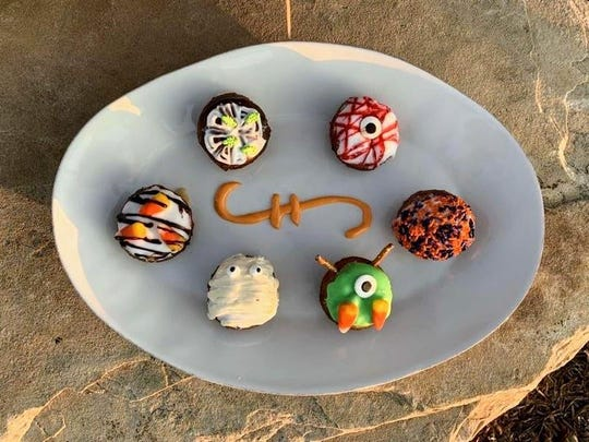 Head to Peace, Love and Little Donuts in both Fort Collins and Loveland for these little Halloween-inspired treats.