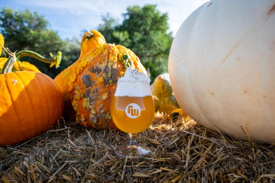 Funkwerks' new small-batch Belgian wheat beer, Pumpkin Spice White, brings pumpkin puree and pie spice together for this taste of fall (whipped cream not included).