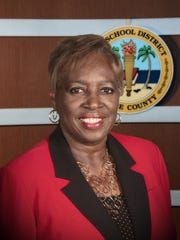 Gwyn Gittens, chair of the Lee County school board