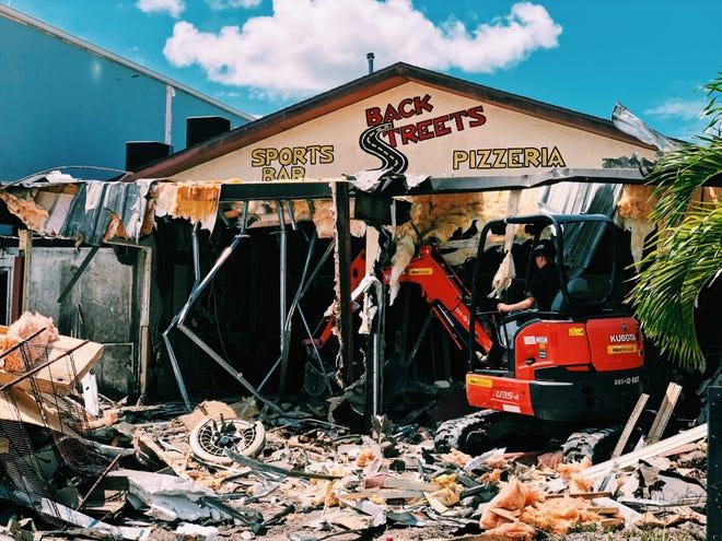 Backstreets Sports Bar underwent a $1.3 million renovation this year.