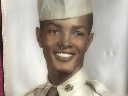 George Mayo, May 13 1934 - Oct. 11, 2019, will be laid to rest Saturday in Fort Myers, mourned by generations of Lee County students who he mentored during the turbulent years of transition from school segregation to integration. Show, Mayo during his service as a military policeman at the latter part of the Korean conflict from 1953 to 1956.