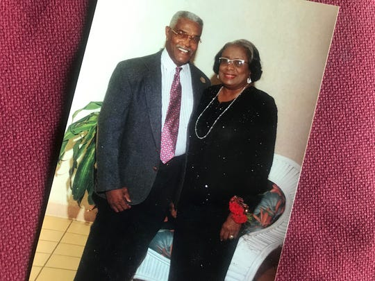 George Mayo, left, met the love of his life, Edythe Audrey (right), when they were elementary school classmates in Fort Myers. This Christmas eve would have marked their 66th year of marriage. Mayo,(May 13, 1934 -Oct. 11, 2019) taught generations of Lee County students during the turbulent transition years from segregation to integration.