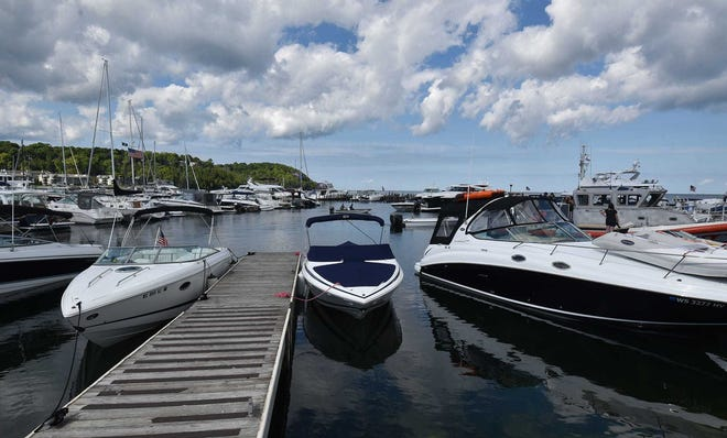 The Village of Sister Bay, its marina pictured here, received federal funds to update their wastewater treatment infrastructure.