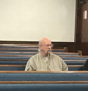 Norman Earl Gardner Jr. appears in court Thursday, Oct. 17, 2019. He faces a charge of reckless driving after police say he struck 13-year-old Welfred Hallens when he lost control of his car while trying to cut off another vehicle Sept. 18 on North Pleasantburg Drive