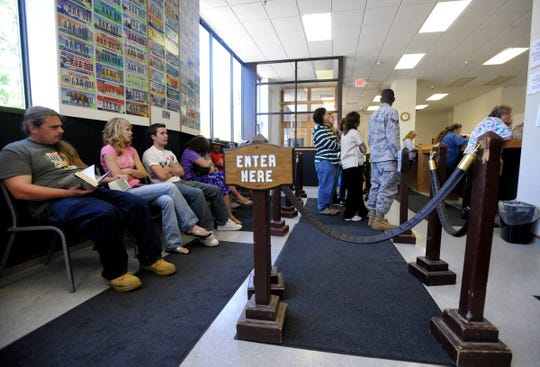 A company may have the answer to long lines at the motor vehicle office.