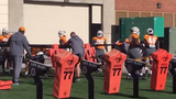 Here are scenes from Tennessee football practice on Oct. 16