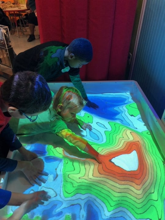 Kids can create weather, volcanos, dinosaurs, cars and more -- just by playing in the sandbox. And every kid knows how to do that!