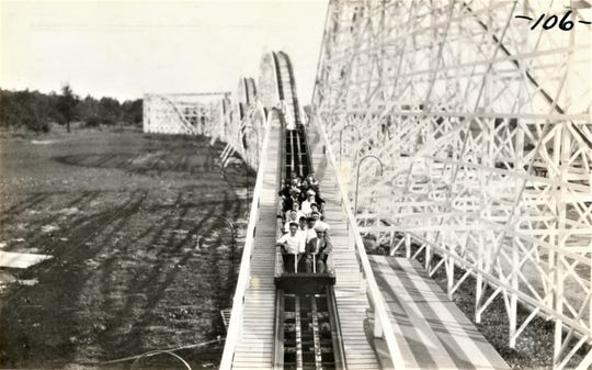 The Zip, a wooden roller coaster, was popular with visitors to Crystal Lake amusement park. The park operated in Marion County from 1922 through 1958. Local historian Randy Winland has published a book about the history of the park. He will do a presentation about the park on Thursday, Oct. 24 at Tri-Rivers Career Center.