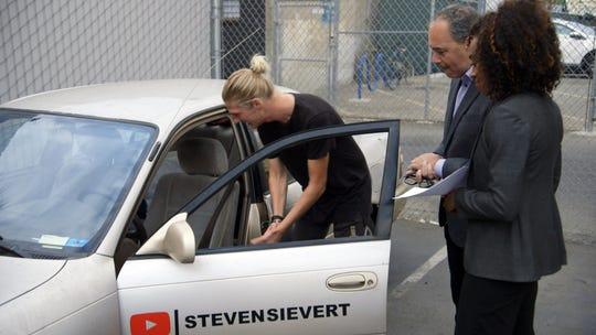 Oconomowoc native Steven Sievert used to live in his  '97 Toyota Corolla.
