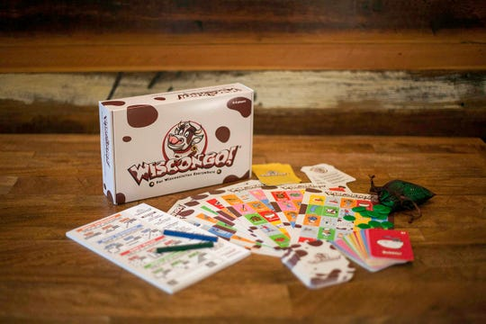 Wiscongo is a Wisconsin-themed board game played like bingo.