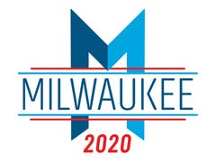 Get ready to see this everywhere in Milwaukee: Here's how the 2020 DNC host committee logo came together.