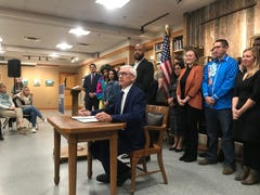 Gov. Tony Evers signs executive order to create task force on climate change