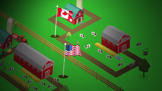 Dairy crisis: How Wisconsin trading partners Canada and Mexico are surviving