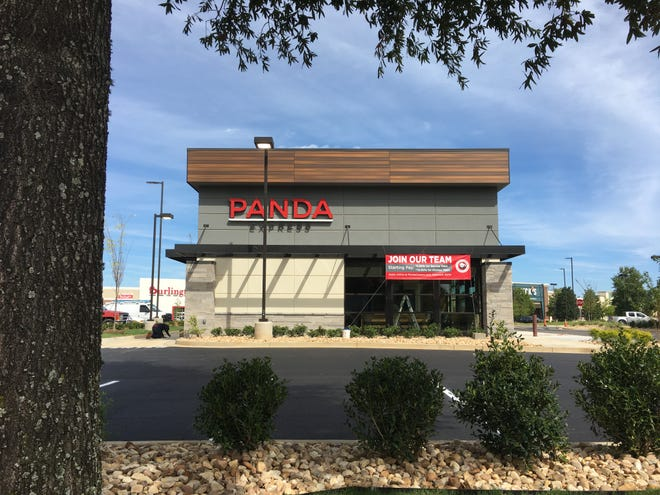 Montgomery's first Panda Express plans to open October 25, the same day as the new Best Buy location.